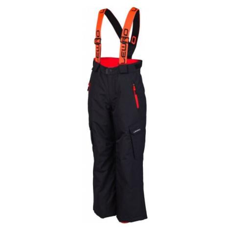 Lewro NIVES różowy 116-122 - Spodnie snowboardowe dziecięce