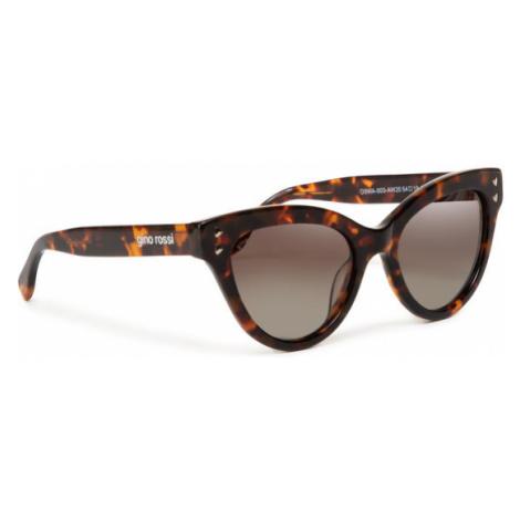 Gino Rossi Okulary przeciwsłoneczne O3WA-003-AW20 Brązowy