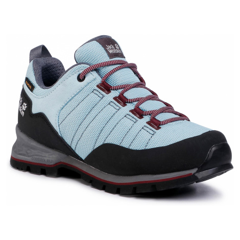 Trekkingi JACK WOLFSKIN - Scrambler Lite Texapore Low 4035341 Light Blue/Purple