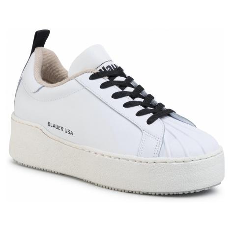 Sneakersy BLAUER - S0MADELINE07/LER White