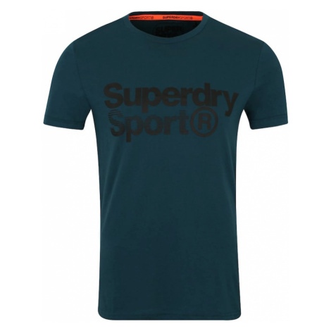 Superdry Koszulka funkcyjna benzyna