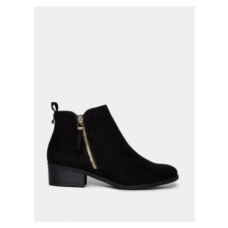 Grey ankle boots in dorothy perkins suede
