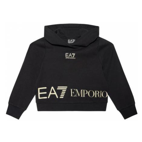 EA7 Emporio Armani Bluza 3KFM52 FJ5FZ 1200 Czarny Regular Fit