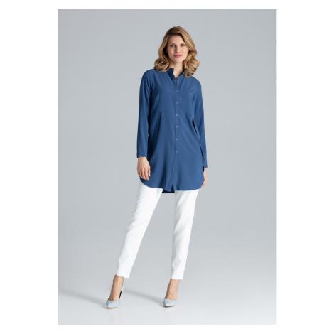 Figl Woman's Dress M545 Navy Blue
