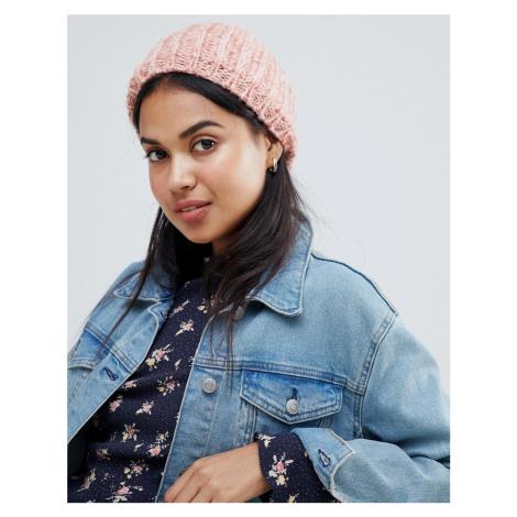 Brave Soul knitted rose hat