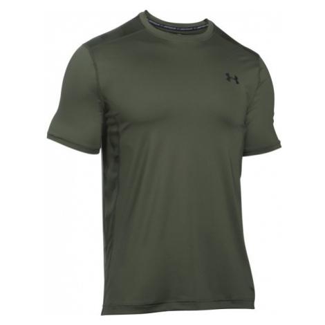 Under Armour RAID SS ciemnozielony XL - Koszulka męska