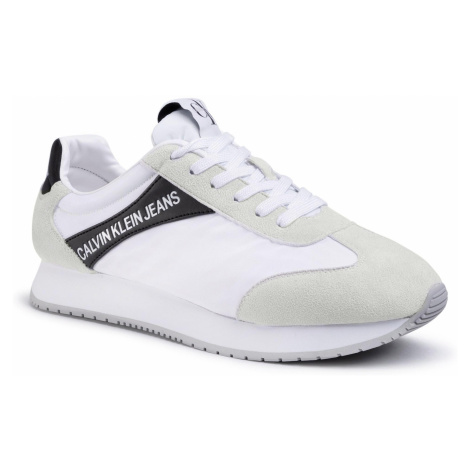 Sneakersy CALVIN KLEIN JEANS - Jerrold S0615 White/Black