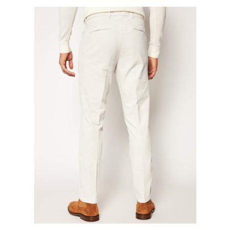 Oscar Jacobson Spodnie materiałowe Denz 5170 7548 Beżowy Regular Fit