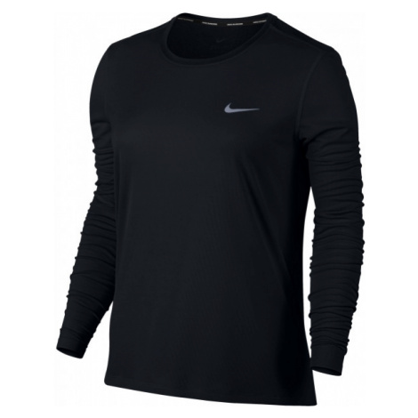 Nike BRTHE RAPID W czarny L - Koszulka do biegania damska