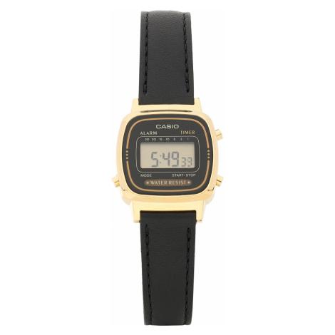Zegarek CASIO - LA-670WEGL -1EF Black/Gold