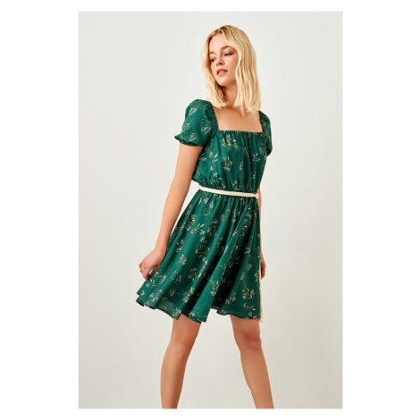 Trendyol Green Patterned Dress