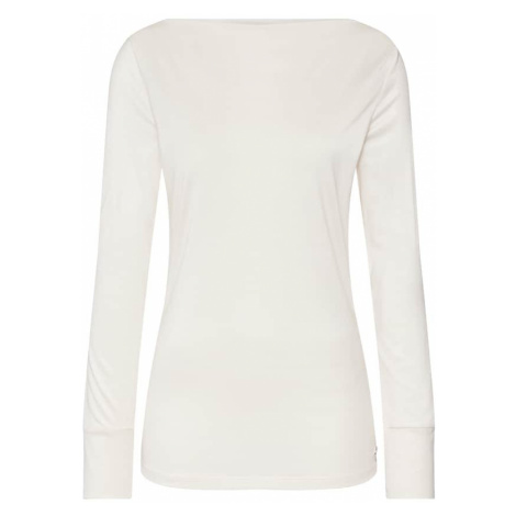 Esprit Collection Koszulka 'slash neck tee T-Shirts' beżowy
