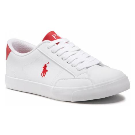 Polo Ralph Lauren Sneakersy Theron IV RF102979 Biały