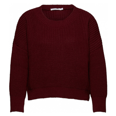 GLAMOROUS Sweter czerwone wino