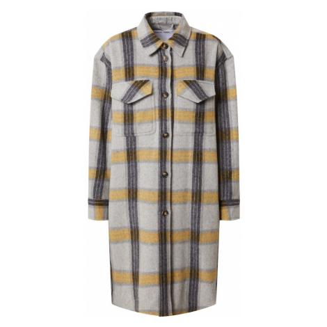 Designers Remix Płaszcz przejściowy 'Amara' szary / żółty