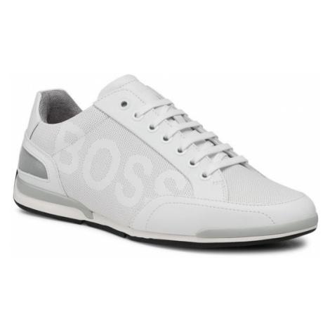 Boss Sneakersy Saturn 50452031 10231638 01 Biały Hugo Boss