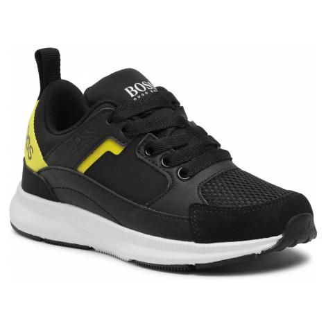 Sneakersy BOSS - J29243 Black 09B Hugo Boss