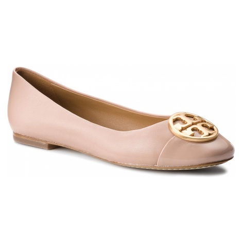 Baleriny TORY BURCH - Chelsea Cap-Toe Ballet 46882 Goan Sand/Goan Sand 268