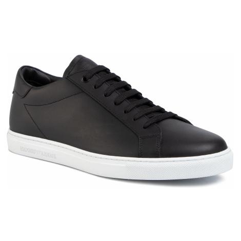 Sneakersy EMPORIO ARMANI - X4X272 XF375 00002 Black