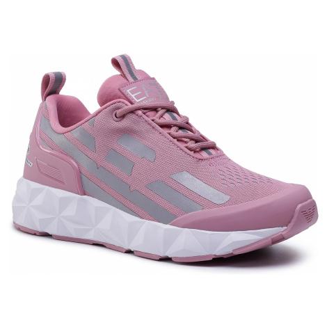 Sneakersy EA7 EMPORIO ARMANI - X8X033 XCC52 N405 Foxglove/Silver