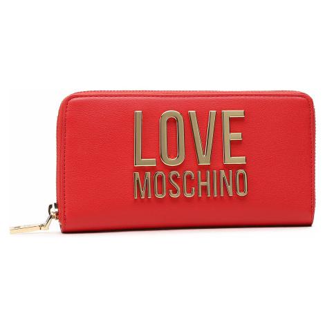 Duży Portfel Damski LOVE MOSCHINO - JC5611PP1CLJ050A Rosso