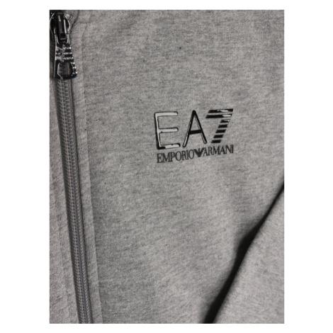 EA7 Emporio Armani Bluza 3HBM52 BJ05Z 3905 Szary Regular Fit