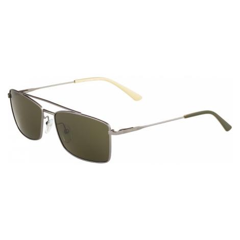 Calvin Klein Okulary przeciwsłoneczne 'CK18117S' srebrno-szary