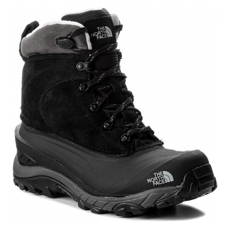 Śniegowce THE NORTH FACE - Chilkat III T939V6WE3 Tnf Black/Dark Gull Grey