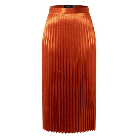 MINKPINK Spódnica 'After Glow' ciemnopomarańczowy