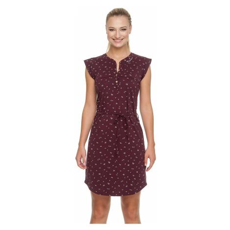 sukienka Ragwear Zofka Organic - 4055/Wine Red