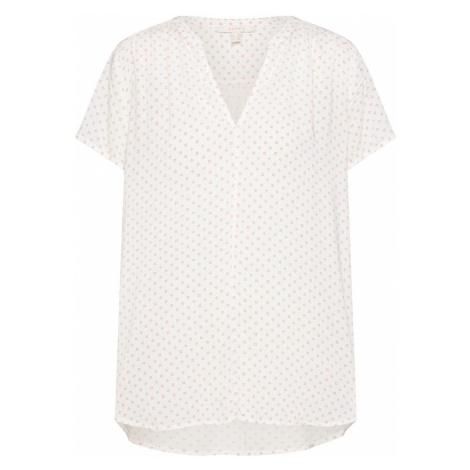 ESPRIT Bluzka czerwony / czarny / biały