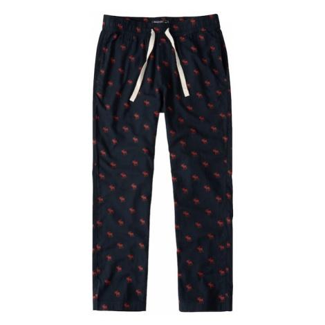 Abercrombie & Fitch Spodnie od piżamy navy