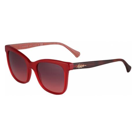 RALPH LAUREN Okulary przeciwsłoneczne czerwony
