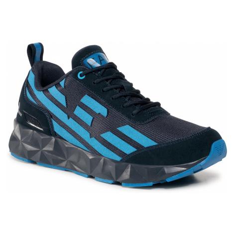 Sneakersy EA7 EMPORIO ARMANI - X8X033 XK162 N072 Blue/Skydiver