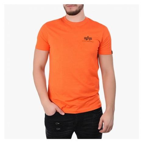 Koszulka męska Alpha Industries Basic Small Logo 188505 417
