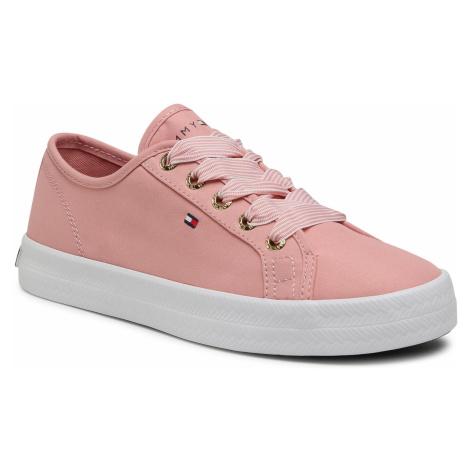 Tenisówki TOMMY HILFIGER - Essential Nautical Sneaker FW0FW04848 Soothing Pink TQS