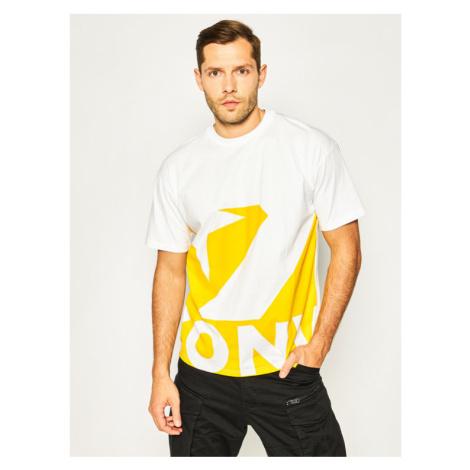 Converse T-Shirt Star Chevron Icon Remix 10018381-A03 Biały Oversize