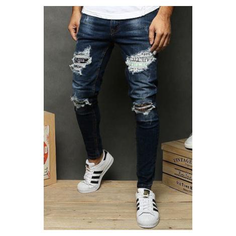 Navy blue men's jeans UX2679