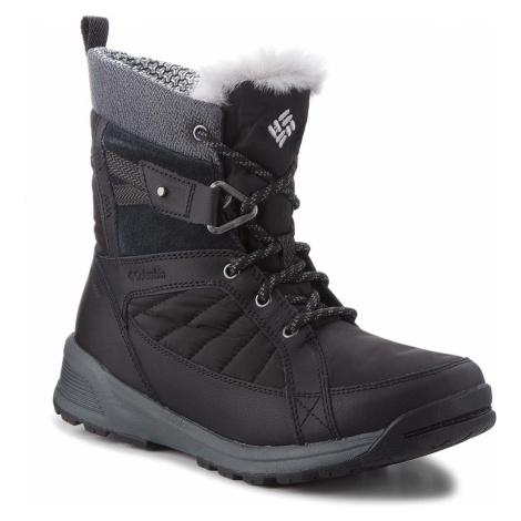 Śniegowce COLUMBIA - Meadows Shorty Omni-Heat 3D BL5966 Black/Steam 010