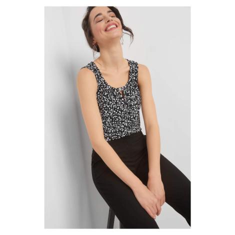 Bluzka z drobnym wzorem Orsay