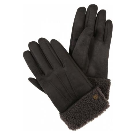 ESPRIT Rękawiczki pięciopalczaste 'Teddy' szary