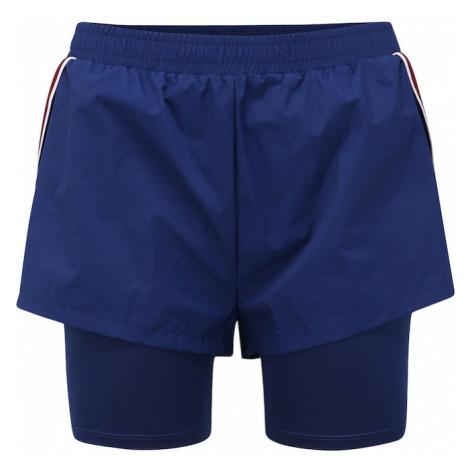 Tommy Sport Spodnie sportowe '2-IN-1' ciemny niebieski
