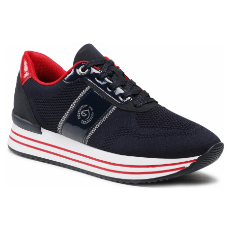 Sneakersy REMONTE - D1314-14 Blau Kombi