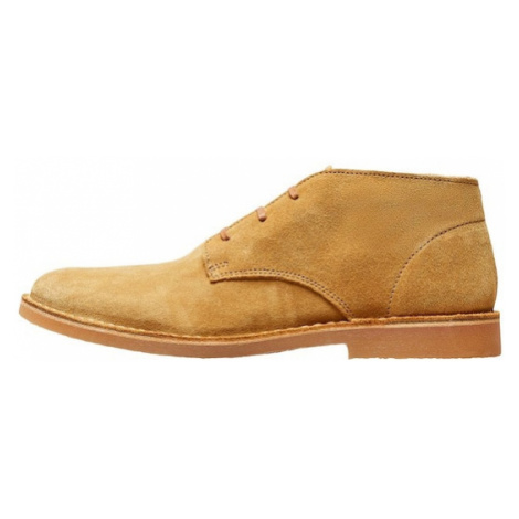 SELECTED HOMME Buty Chukka piaskowy