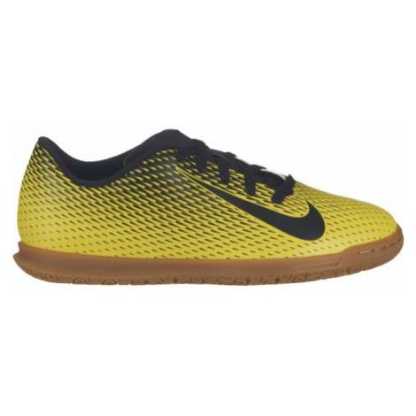 Nike JR NIKE BRAVATA II IC żółty 1.5Y - Obuwie piłkarskie halowe juniorskie