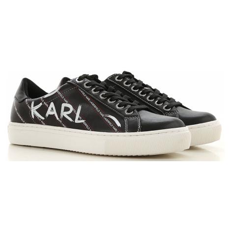 Karl Lagerfeld Trampki dla Kobiet, czarny, Skóra, 2021