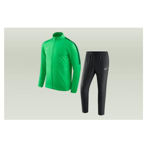 Nike Academy 18 Y Młodzieżowe Zielono-Czarne (893805-361)
