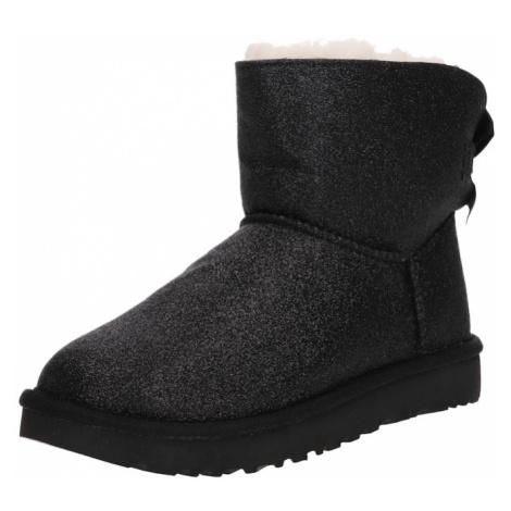 UGG Śniegowce 'Mini Bailey Bow Sparkle' czarny