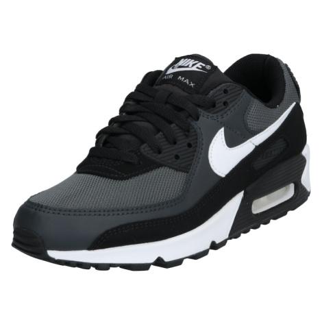 Nike Sportswear Trampki niskie 'Air Max 90' biały / czarny