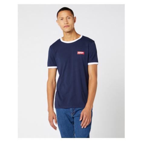 Wrangler Koszulka Niebieski